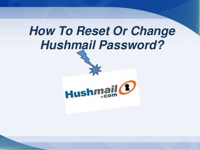how-to-reset-hushmail