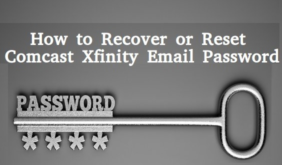 Recover Comcast Xfinity Email Password