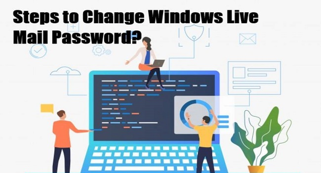 Change Windows Live Email Password