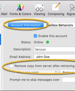How to Setup SMTP Settings for Verizon Email?