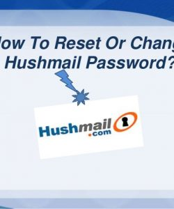 How to Change Hushmail Password?